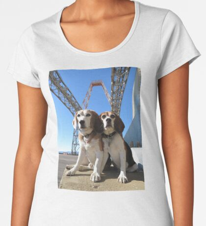 Indomitabeagle Women's Premium T-Shirt