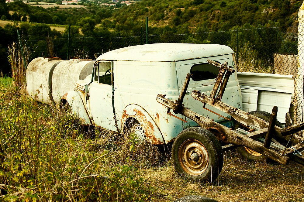 Broken Down and Abandoned by James Tate