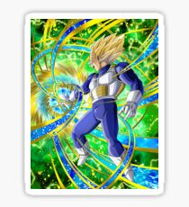 Dragon Ball Vegeta Super Sayan Sticker