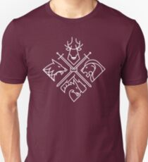 Game of Thrones Häuser Unisex T-Shirt