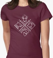 Camiseta entallada para mujer Game of Thrones Houses
