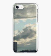 Downtown Portland Oregon in the Twilight iPhone Case/Skin