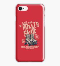 Roller Skates Retro Vintage iPhone Case/Skin