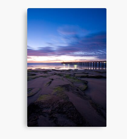 Point Lonsdale Pier at Dawn Canvas Print