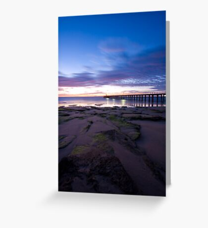 Point Lonsdale Pier at Dawn Greeting Card