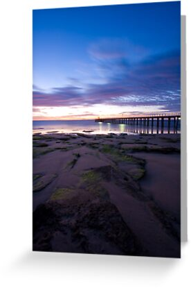 Point Lonsdale Pier at Dawn by Jared Revell