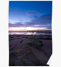 Point Lonsdale Pier at Dawn Poster