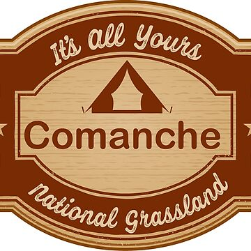 Comanche National Grassland by ginkgotees