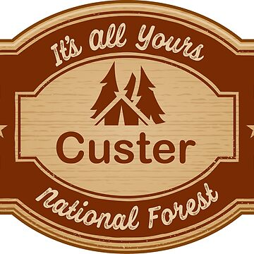 Custer National Forest by ginkgotees