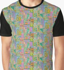 COLOURFUL HOMES Graphic T-Shirt