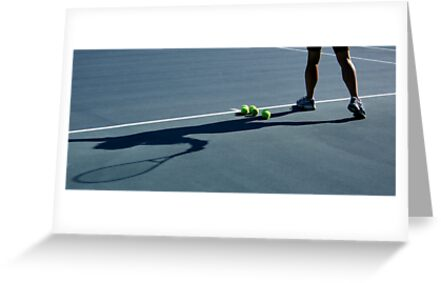 Tennis Shadow by Dignitarium