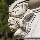 marble cupid by Lenore Locken