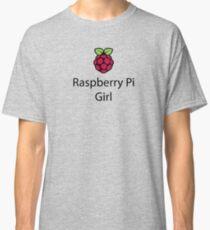 Raspberry Pi Girl Classic T-Shirt