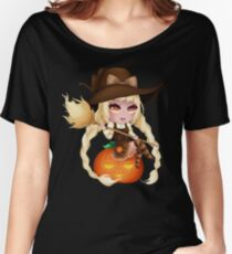 Punkin Chibi Witch - 2017 Women's Relaxed Fit T-Shirt