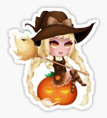 Punkin Chibi Witch - 2017 Sticker