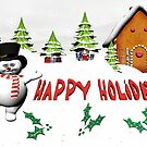 Happy Hoidays by Tammy Soulliere Ratliff
