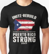 PLEASE HELP THE PEOPLE OF PUERTO RICO!! Unisex T-Shirt