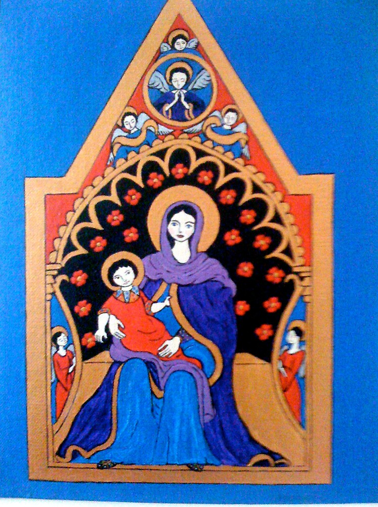 Madonna & Child by Shulie10