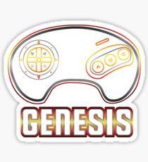 Genesis Neon Sticker