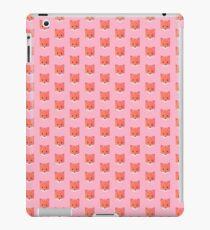 Animinimal Fox (pink) iPad Case/Skin