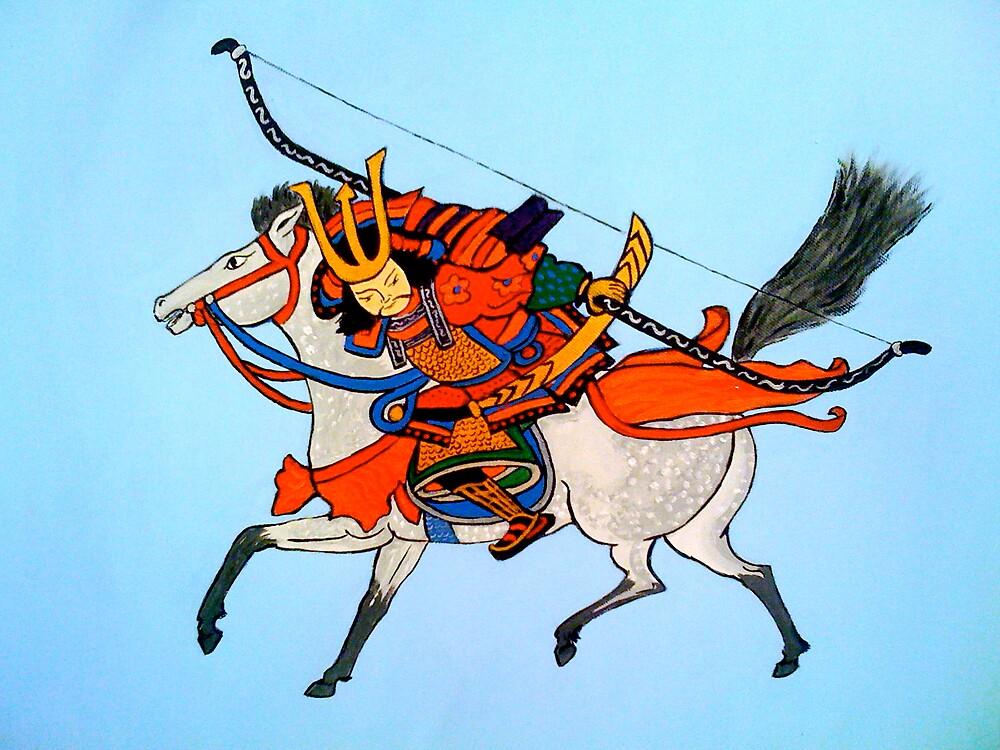 Samurai Warrior #2 by Shulie10