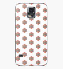 Animinimal Orangutan (white) Case/Skin for Samsung Galaxy