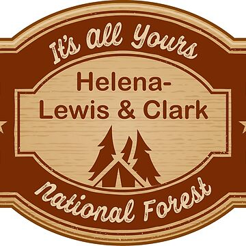 Helena-Lewis and Clark National Forest by ginkgotees