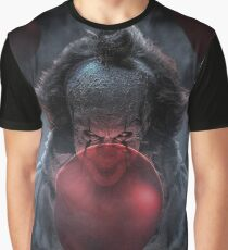PENNYWISE WITH BALLOONS Graphic T-Shirt