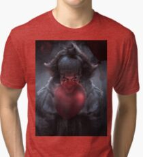 PENNYWISE WITH BALLOONS Tri-blend T-Shirt