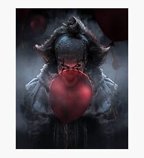 PENNYWISE WITH BALLOONS Photographic Print