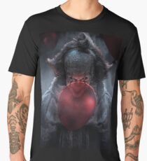 PENNYWISE WITH BALLOONS Men's Premium T-Shirt