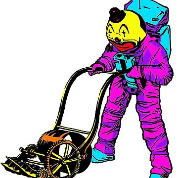 Astronaut Clown Mower by Clownmower