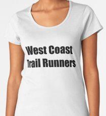 West Coast Trail Runners Women's Premium T-Shirt