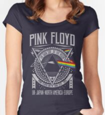 Pink Floyd - Dark Side of the Moon Tour Women's Fitted Scoop T-Shirt