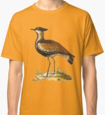 The Black Breasted Indian Plover - HD vintage image from encyclopedia number 7 Classic T-Shirt