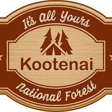 Kootenai National Forest by ginkgotees