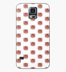 Animinimal Tiger (white) Case/Skin for Samsung Galaxy