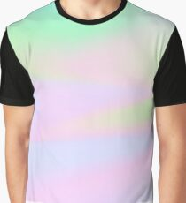 H.I.P.A.B - Holographic Iridescent Pantone Aesthetic Background pt 4 Graphic T-Shirt