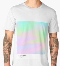 H.I.P.A.B - Holographic Iridescent Pantone Aesthetic Background pt 4 Men's Premium T-Shirt
