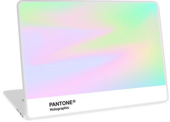 HIPAB - holographischer schillernder Pantone ästhetischer Hintergrundpunkt 4 von heathaze