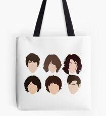 Alex Turner's hair evolution Tote Bag