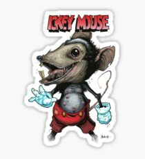 Ickey Mouse Sticker