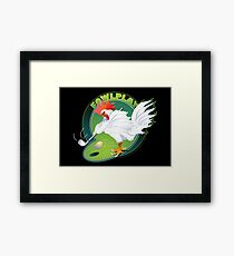 Fowl Play Framed Print