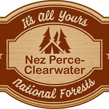 Nez Perce-Clearwater National Forests by ginkgotees