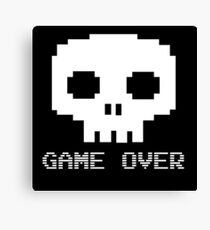 Game Over - Try Again? Canvas Print
