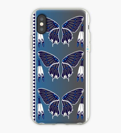 Butterfly Nation Blue iPhone Case