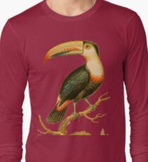 The Toucan - Bird HD vintage image from encyclopedia number 9 T-Shirt
