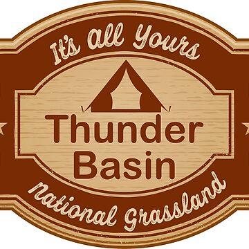 Thunder Basin National Grassland by ginkgotees