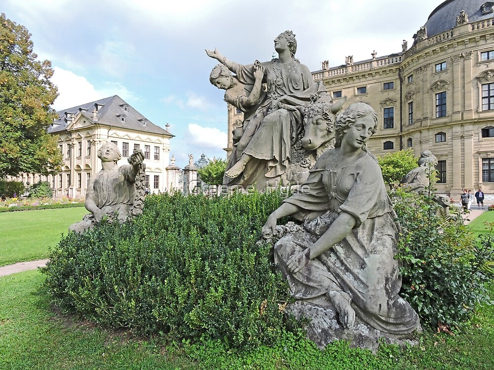 Statue of Europa, Wurzburg by Graeme  Hyde