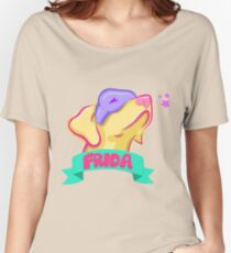 Frida Pastel Vivid Women's Relaxed Fit T-Shirt